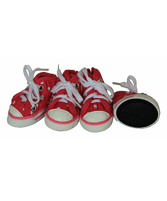 a0b9bcb199af2 Pet Life Extreme-Skater Canvas Casual Grip Pet Sneaker Shoes - Set Of 4