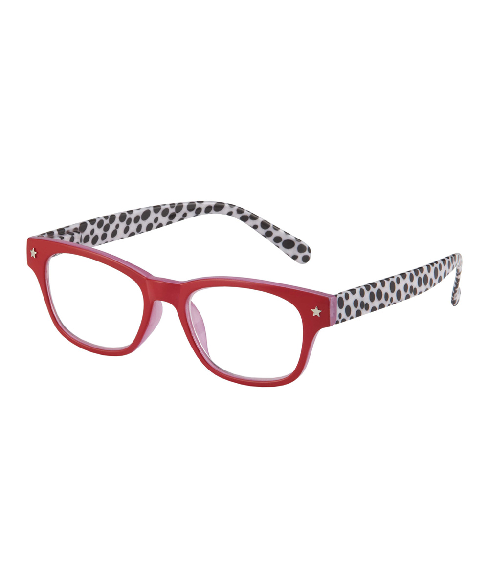 Red & White Saffron Eye Candy Readers