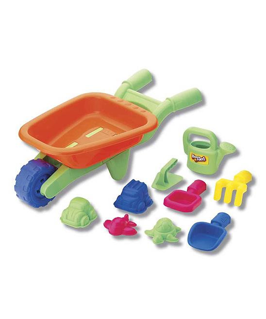 Small World Toys  Water toys  - Beach Wheeling Fun Set