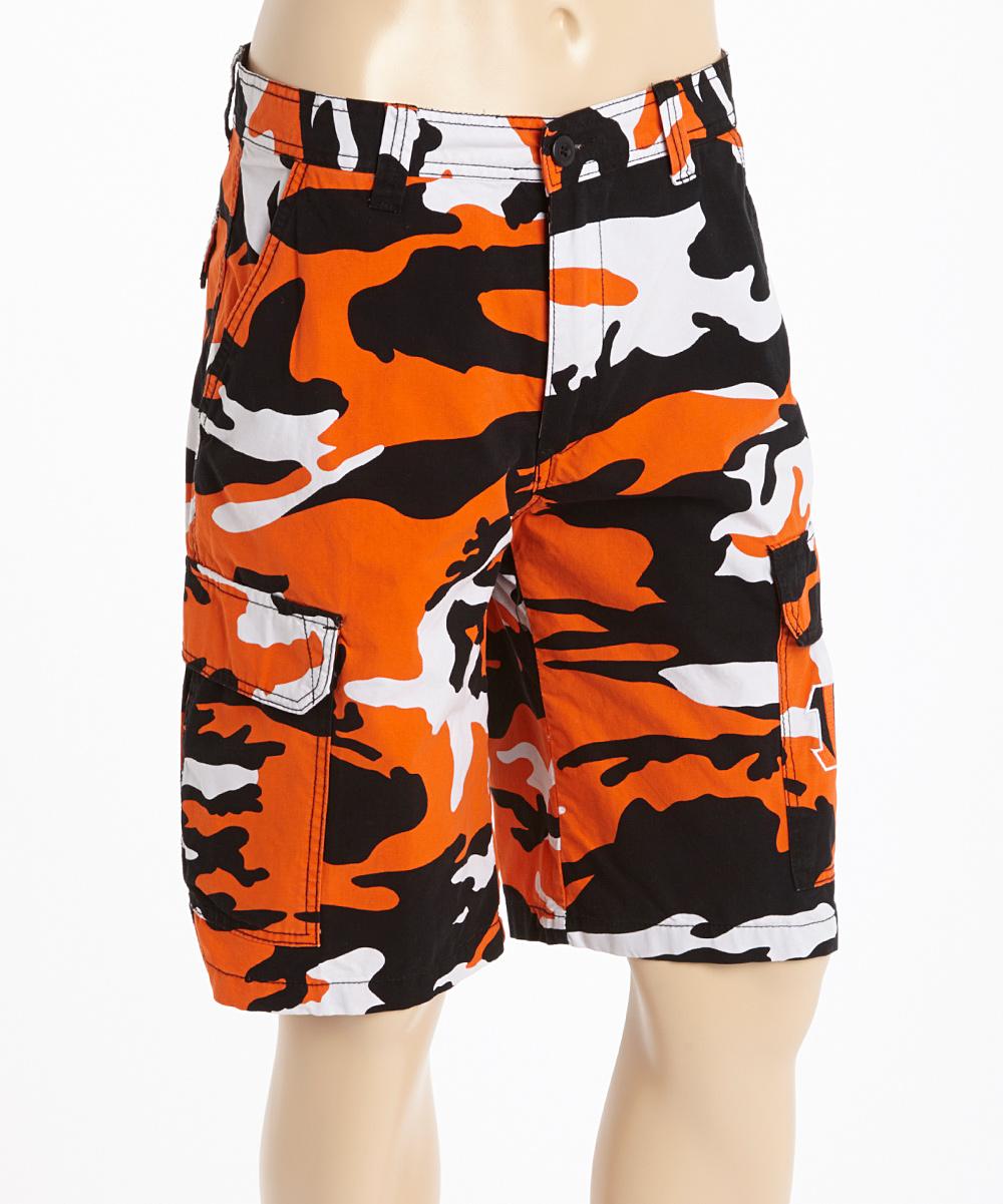 North Bay Apparel Cincinnati Bengals Camo Shorts - Men  ea483fad0
