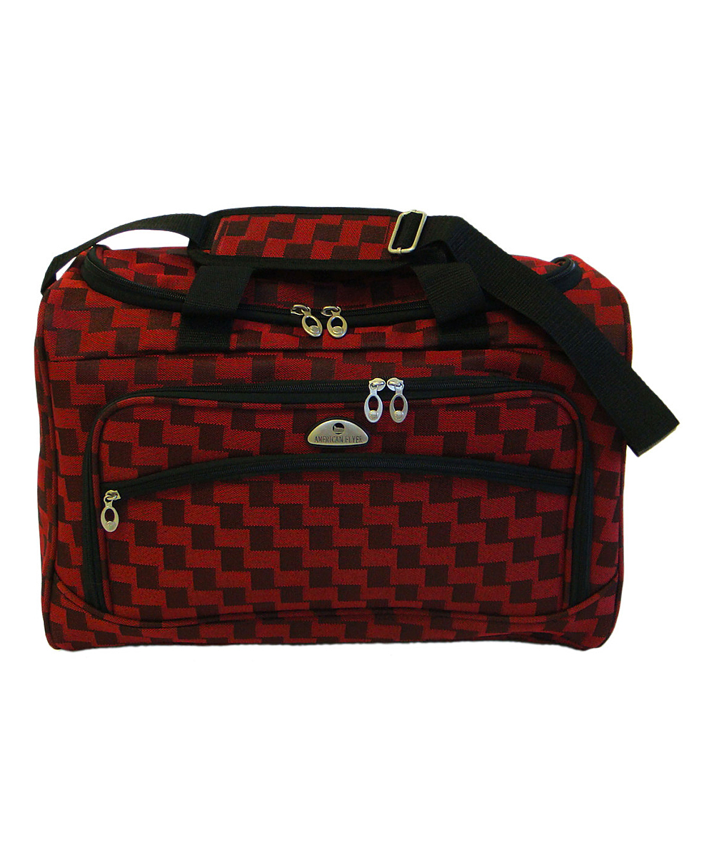 9cd9d625c American Flyer Red Madrid Five-Piece Luggage Set | Zulily