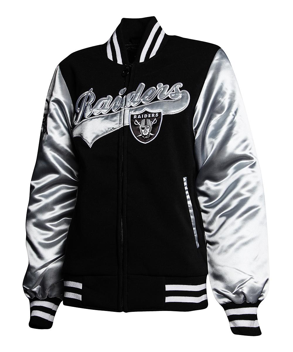 13fe5f80 MTC Oakland Raiders Sweetheart Jacket - Women
