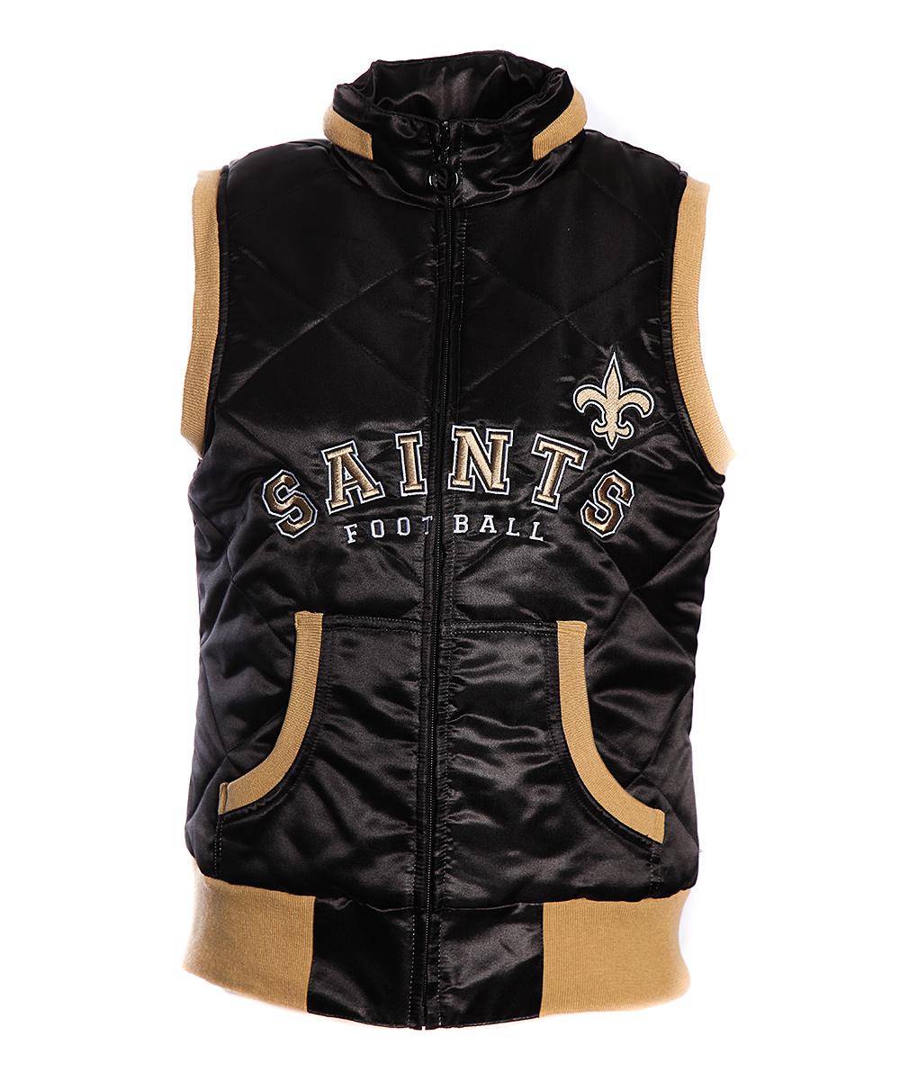 92dd8f95 MTC New Orleans Saints Puffer Vest - Women