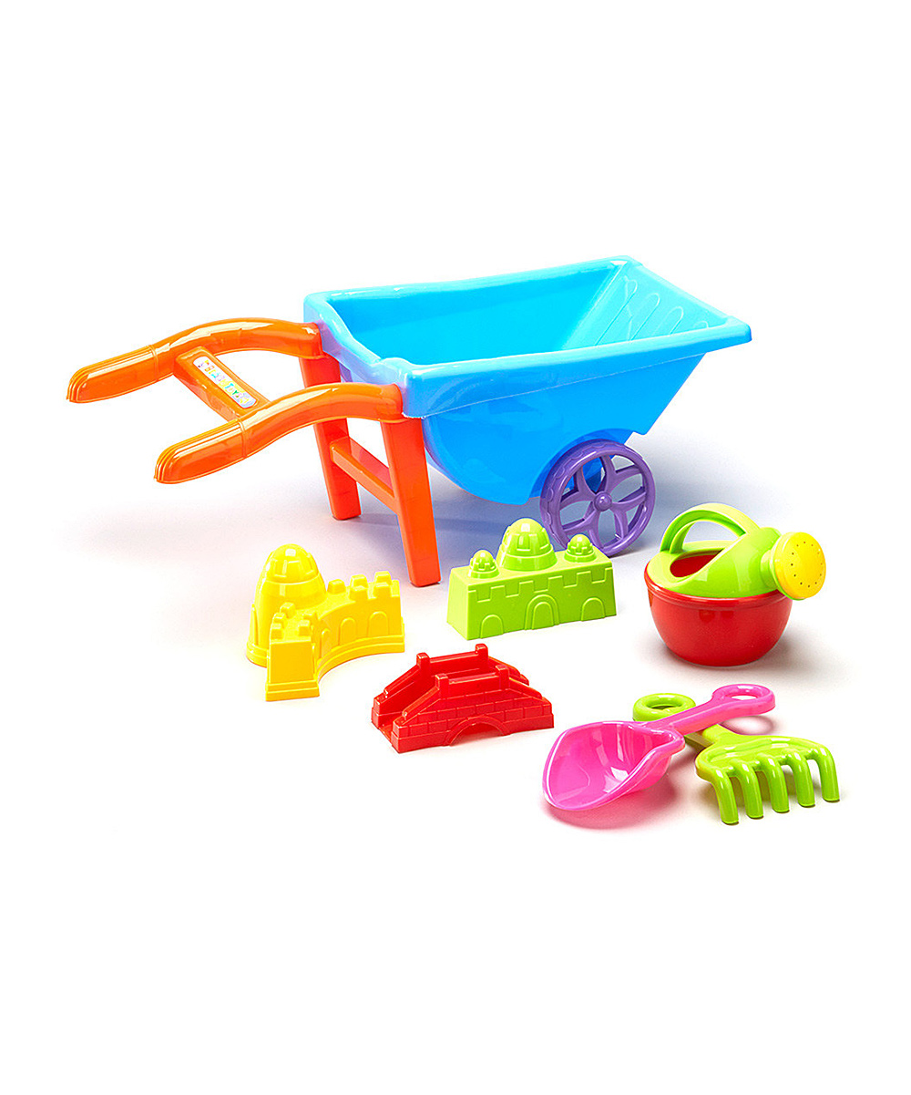 Wheelbarrow Beach Toys Set