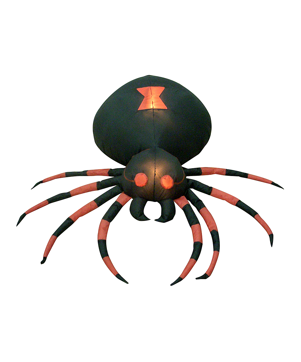 BZB Goods  Outdoor Structures  - Giant Spider Inflatable Light-Up Lawn Decoration