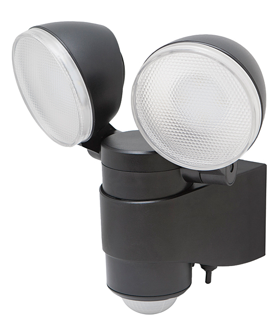 Battery-Powered Dual-Head Motion Light