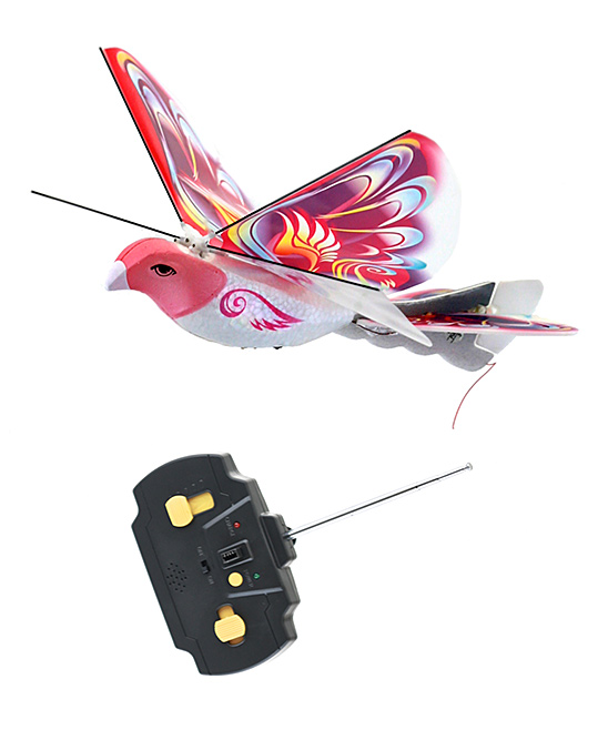 MukikiM  Remote Control Toys Pink - Electronic Remote Control Flying Bird Toy Set