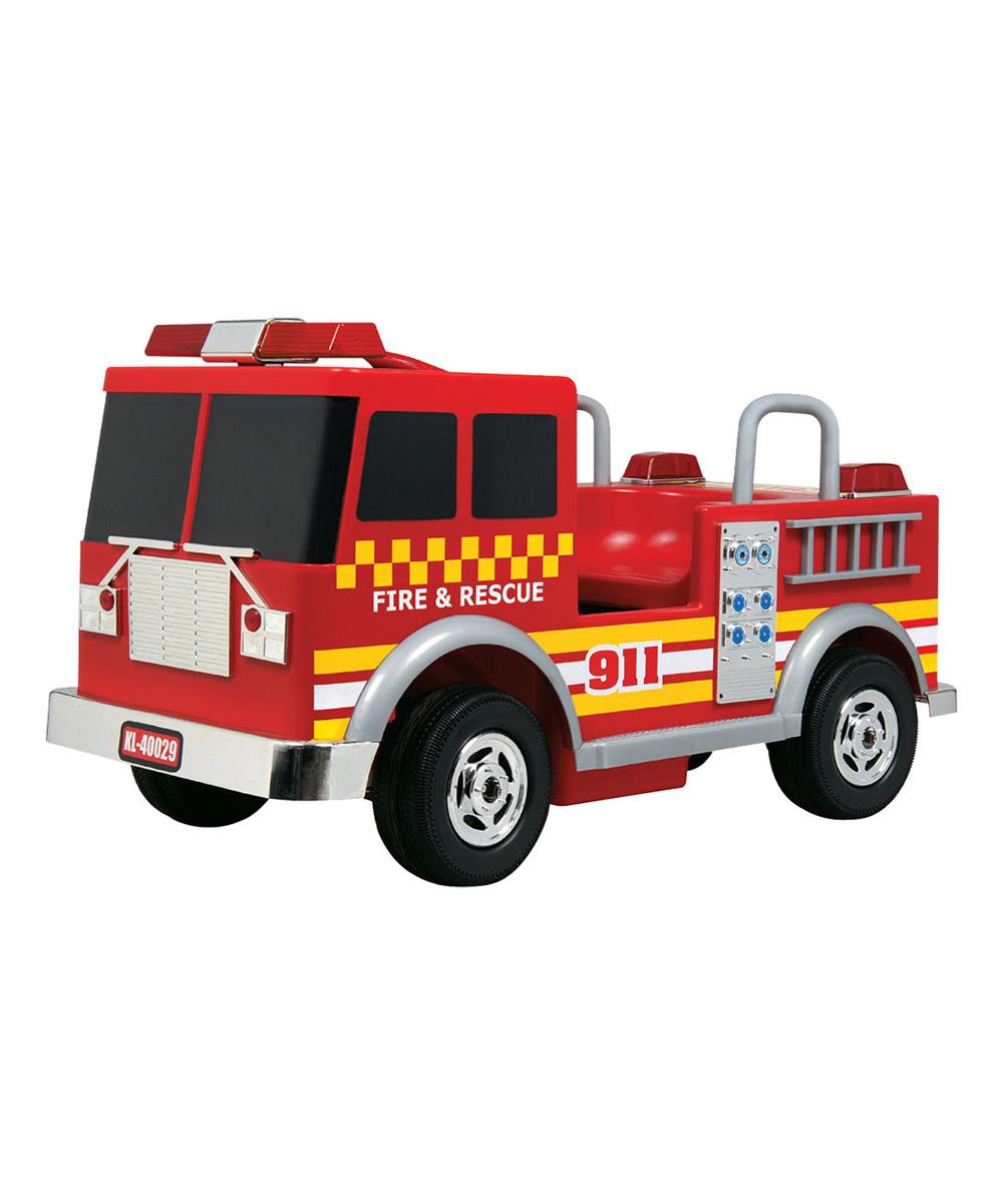 Kalee Kalee Fire Truck Ride-On