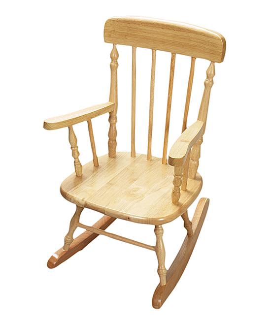Natural Rocking Chair