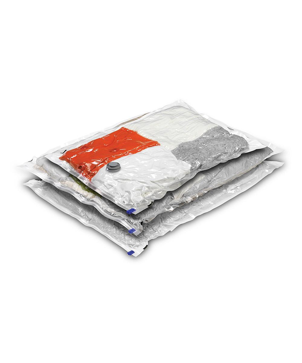 Honey-Can-Do  Underbed Storage Bags  - Vacuum-Sealed Storage Bag Set