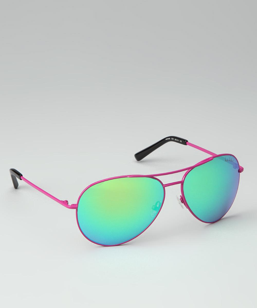 5fa8426a263e1 Nicole Miller New York Nicole Miller Pink Moore Sunglasses