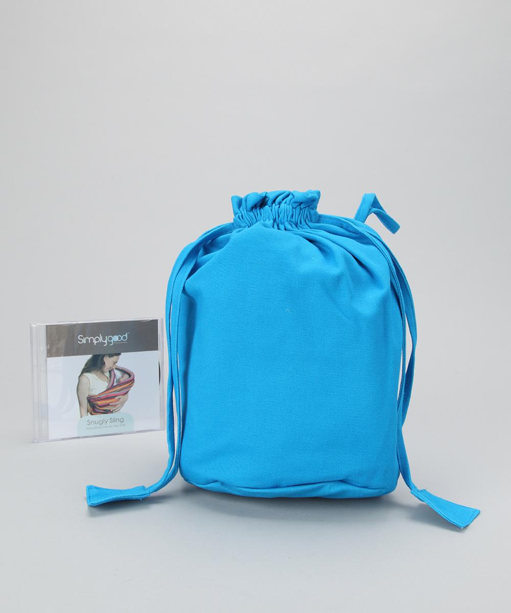 50e8f991d7a Simply Good Blue Snugly Sling