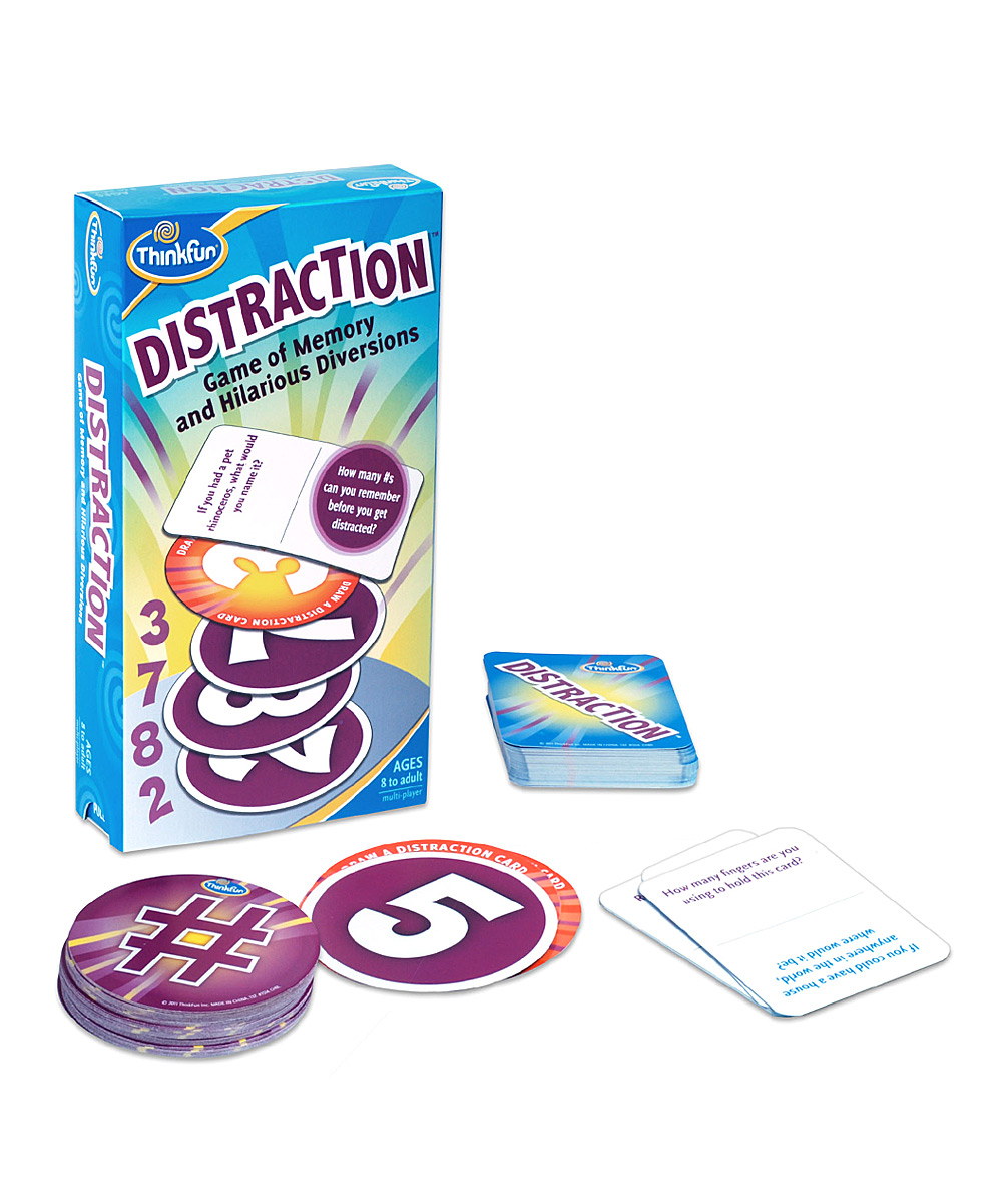 ThinkFun  Board Games  - Distraction Game