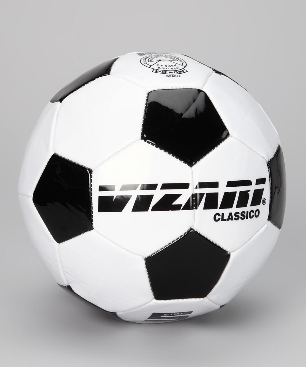 Vizari  Soccer Balls White - White & Black Classico Soccer Ball - Kids